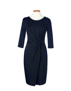 One Collection Neptune Dress Brook Taverner - black