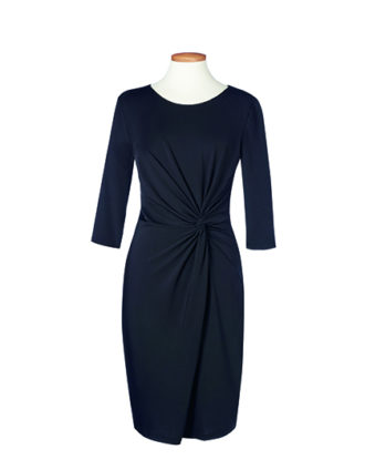 One Collection Neptune Dress Brook Taverner - black
