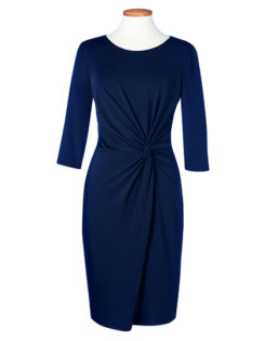One Collection Neptune Dress Brook Taverner - navy