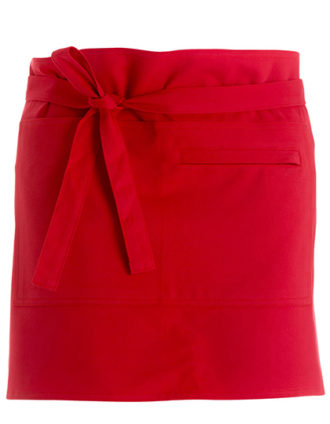 Bar Apron Short Bargear - red