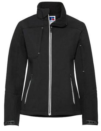Ladies Bionic Softshell Jacket Russell - black