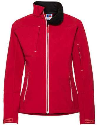 Ladies Bionic Softshell Jacket Russell - classic red