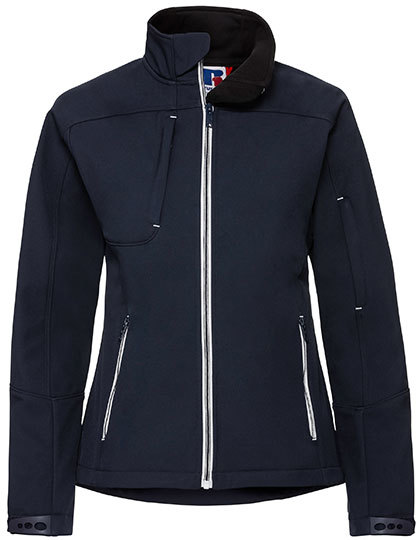 Ladies Bionic Softshell Jacket Russell - french navy
