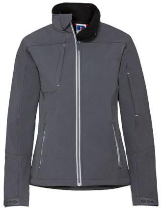Ladies Bionic Softshell Jacket Russell - iron grey