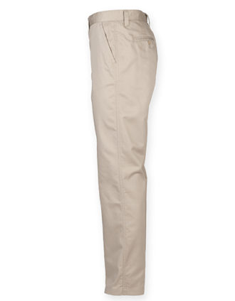 Ladies Chino Trousers Henbury - seitlich