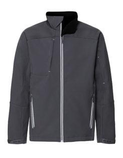 Mens Bionic Softshell Jacket Russell - iron grey