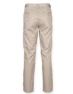 Mens Chino Trousers Henbury - hinten