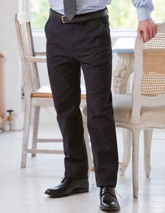 Mens Chino Trousers Henbury - navy