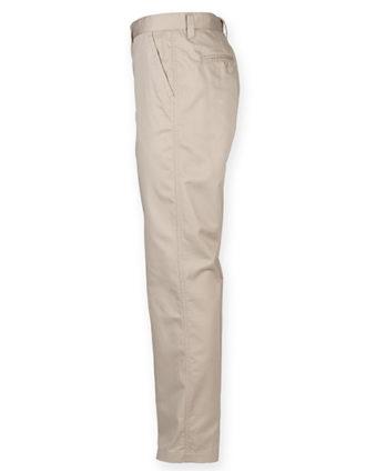 Mens Chino Trousers Henbury - seitlich