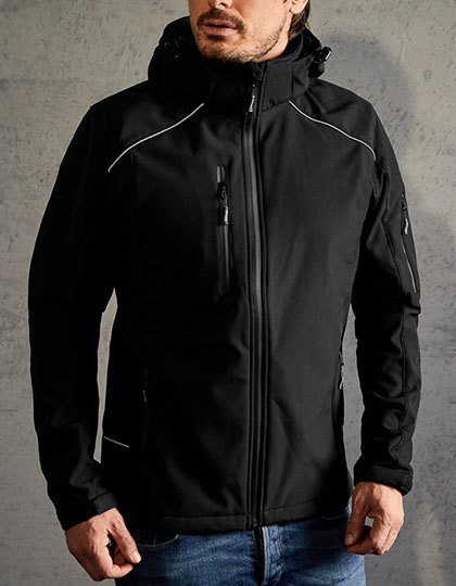 Mens Softshell Jacket Promodoro - black