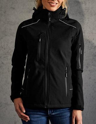 Womens Softshell Jacket Promodoro - black