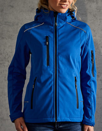 Womens Softshell Jacket Promodoro - royal