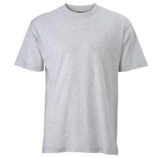 Basic-T-Shirt-James-Nicholson-ash