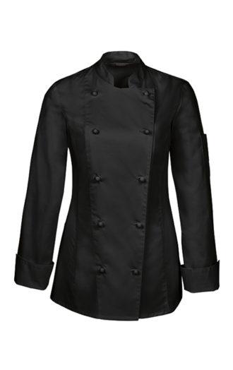 Greiff Damen Kochjacke - schwarz