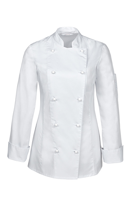 Greiff Damen Kochjacke - weiß