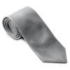 Greiff Krawatte - silbergrau