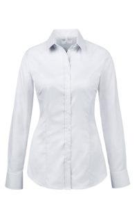 Greiff Modern 37 5 Damen Regular Fit Bluse - weiß