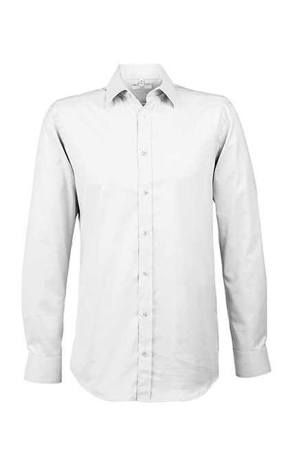 Greiff Modern 37 5 Herren Regular Fit Hemd - weiß