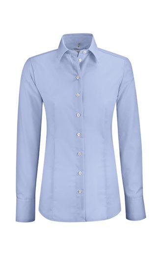 Greiff Premium Bluse Regular Fit - bleu
