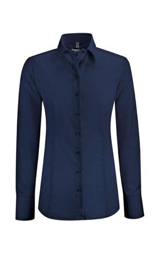 Greiff Premium Bluse Regular Fit - marine