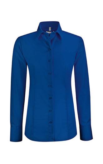 Greiff Premium Bluse Regular Fit - royalblau