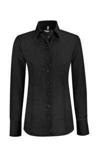 Greiff Premium Bluse Regular Fit - schwarz