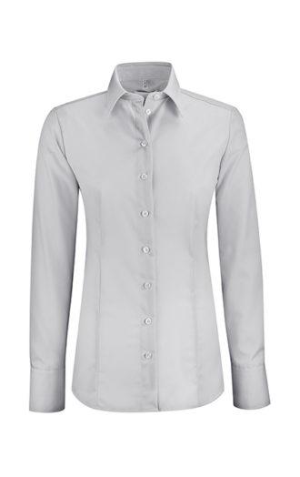 Greiff Premium Bluse Regular Fit - silbergrau