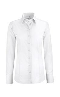 Greiff Premium Bluse Regular Fit - weiß