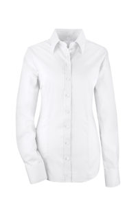Greiff Premium Bluse Slim Fit - weiß