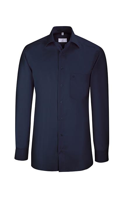 Greiff Premium Hemd Regular Fit - marine