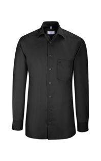 Greiff Premium Hemd Regular Fit - schwarz