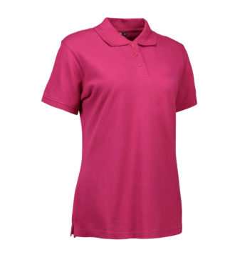 Stretch Poloshirt Damen Identity - cerise