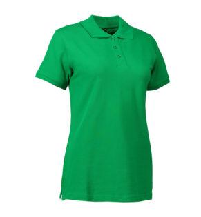 Stretch Poloshirt Damen Identity - grün