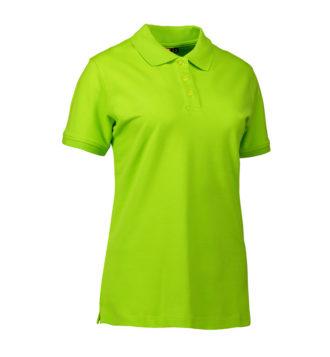 Stretch Poloshirt Damen Identity - lime