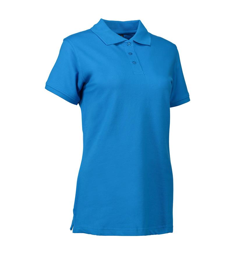 Stretch Poloshirt Damen Identity - türkis