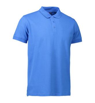 Stretch Poloshirt Identity - azur