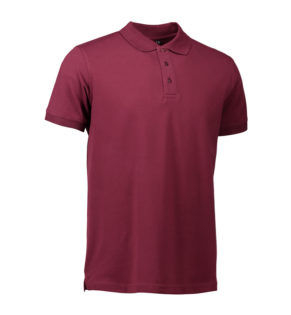 Stretch Poloshirt Identity - bordeaux