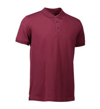 Stretch Poloshirt Identity - bordeaux