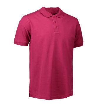 Stretch Poloshirt Identity - cerise