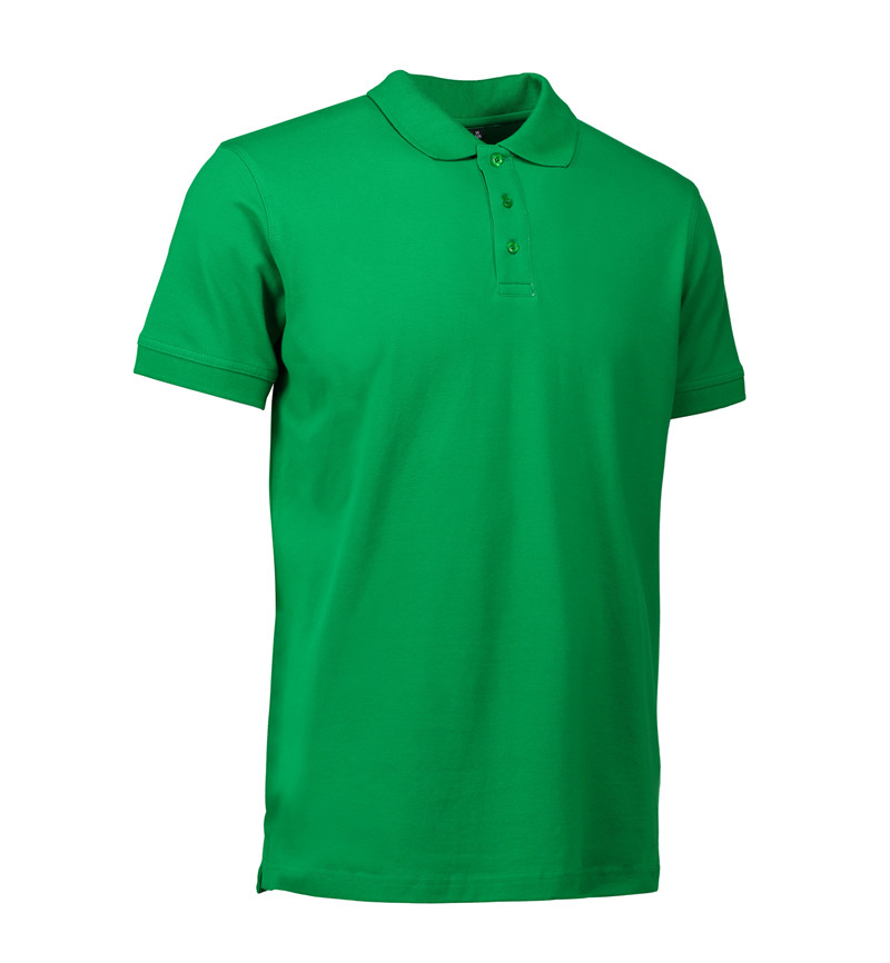 Stretch Poloshirt Identity - grün