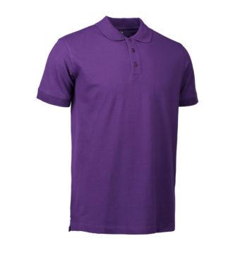 Stretch Poloshirt Identity - lila