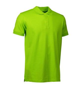 Stretch Poloshirt Identity - lime