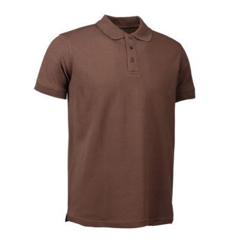 Stretch Poloshirt Identity - mokka