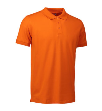 Stretch Poloshirt Identity - orange