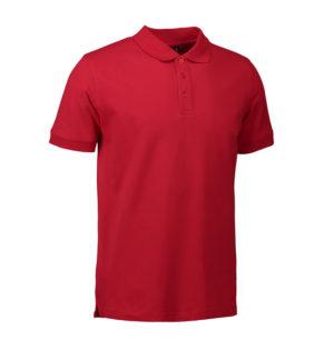 Stretch Poloshirt Identity - rot