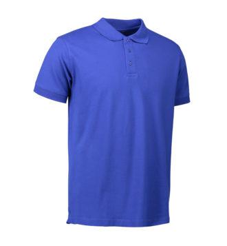 Stretch Poloshirt Identity - royalblau
