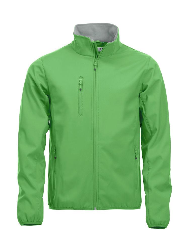 Basic Softshell Jacket Clique - apfelgrün
