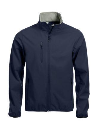 Basic Softshell Jacket Clique - dark navy