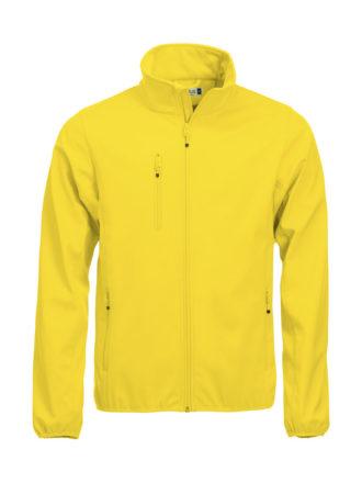 Basic Softshell Jacket Clique - lemon