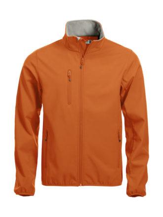 Basic Softshell Jacket Clique - orange